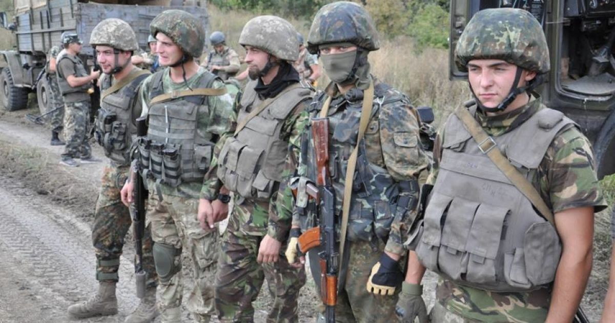 Двое украинских военных подорвались на растяжках возле Марьинки. Карта АТО
