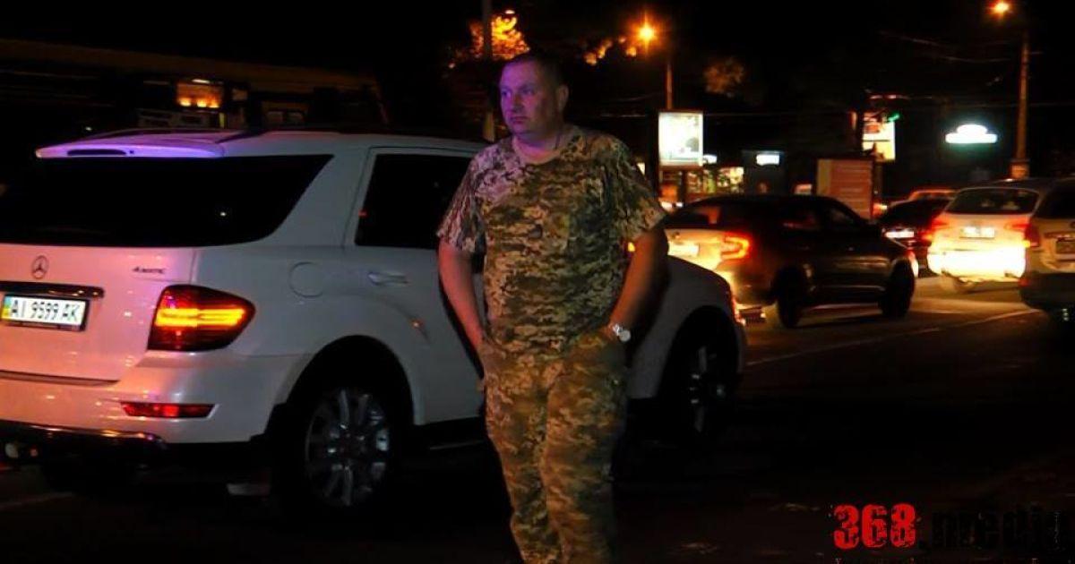 В Одессе за рулем задержали пьяных военных @ Facebook.com/АвтоМайдан