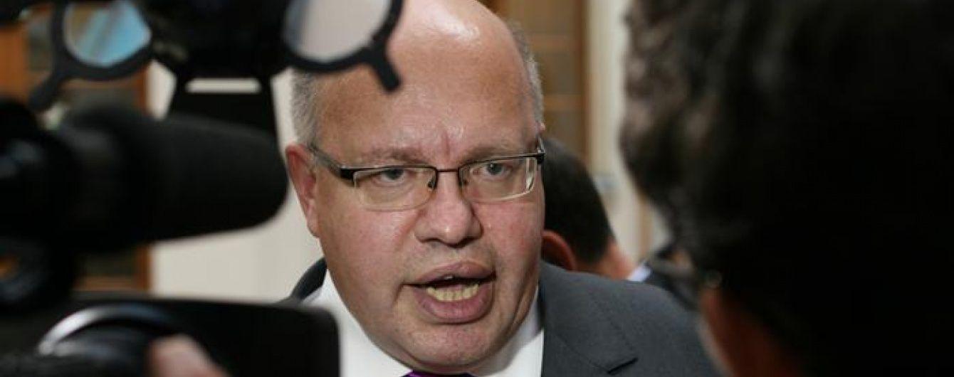 """Министр экономики Германии пытается приспустить украинское сопротивление против """"Северного потока-2"""""""