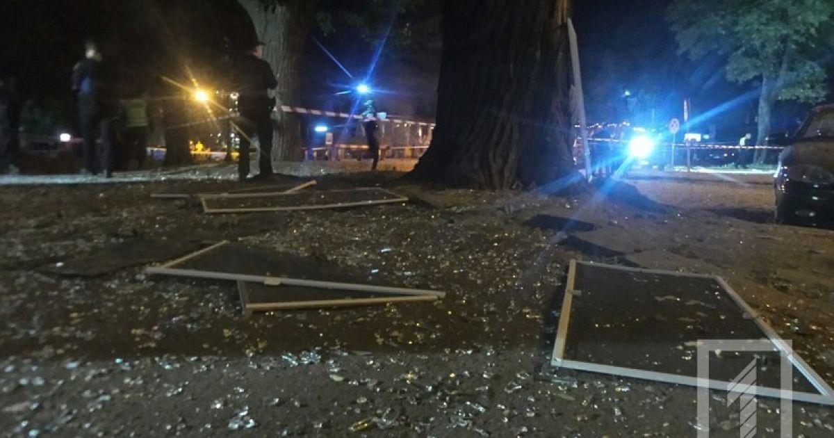 Взрыв возле СБУ в Одессе могли организовать мстительные диверсанты