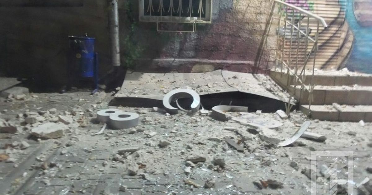 Взрыв возле СБУ в Одессе квалифицировали как теракт