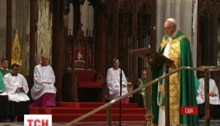 Америка в восторге от первого визита Папы Римского Франциска