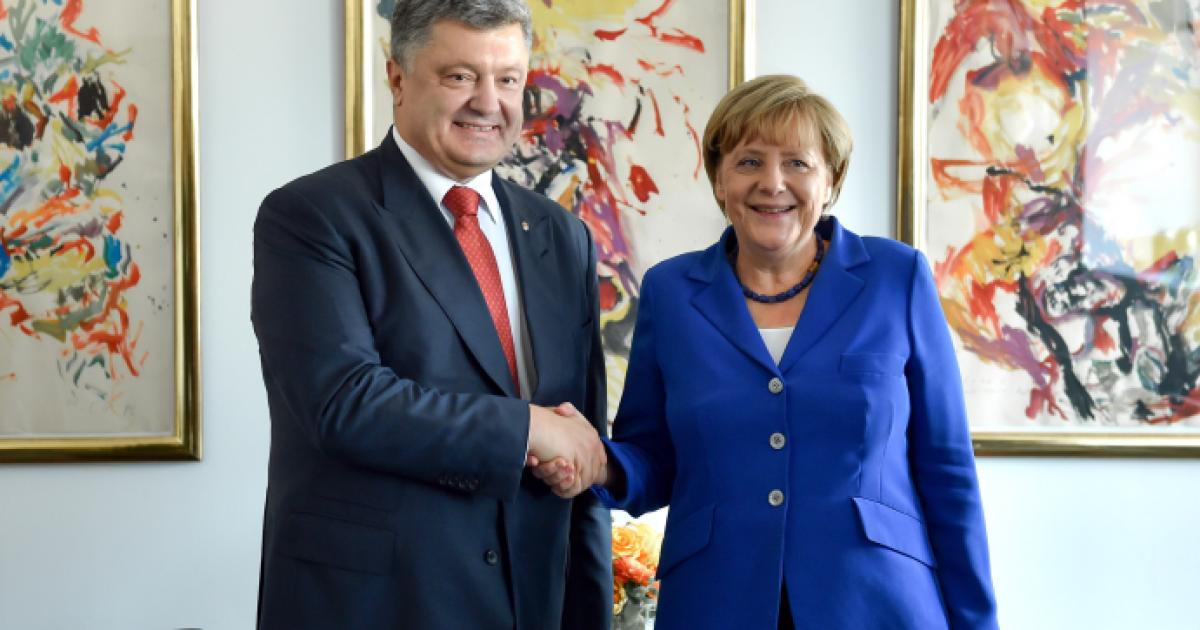 Ситуация в Украине имеет значение для глобальной безопасности - Меркель