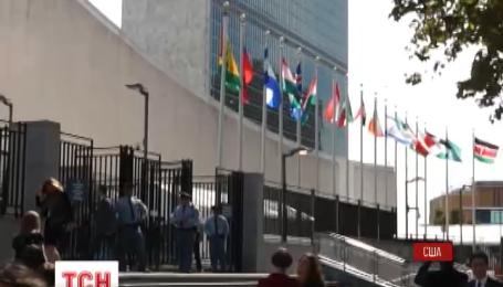Российская делегация покинула зал Генассамблеи ООН во время выступления Петра Порошенко