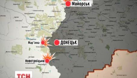 Четверо українських військових отримали поранення внаслідок обстрілу у Мар'їнці