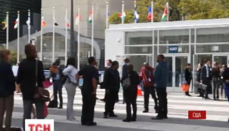 Російська делегація залишила зал Генеральної асамблеї ООН під час виступу Петра Порошенка