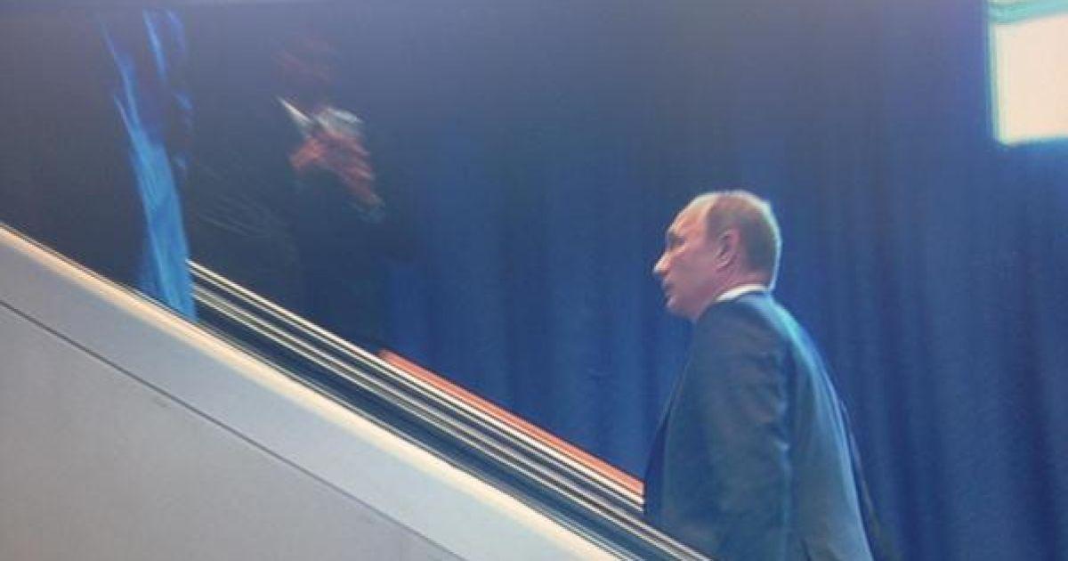 Путин прибыл в ООН, когда Обама окончил выступление