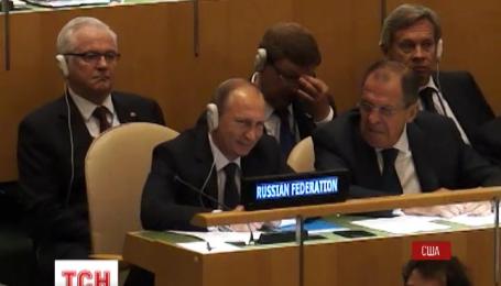 Путин поленился перевести на английский свое выступление на Генассамблее ООН