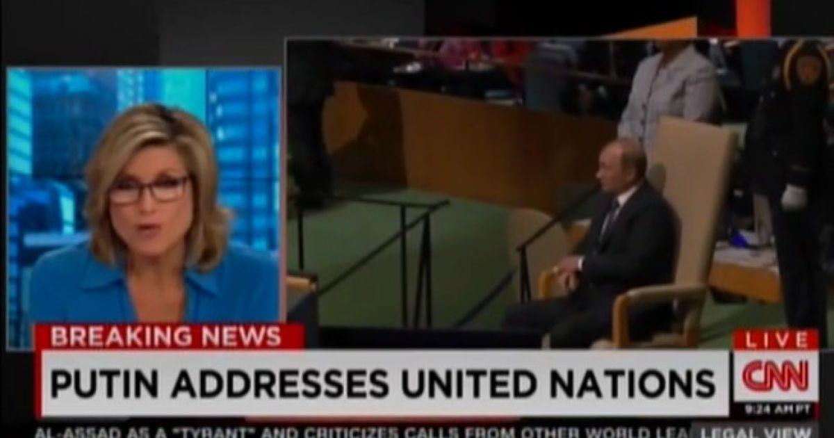 На CNN Бориса Єльцина назвали президентом Росії