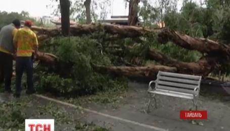 Смертоносный тайфун Дуджуан нанес удар на острове Тайвань