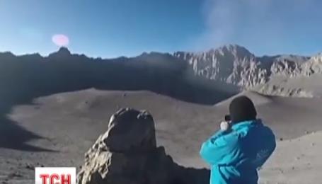 Вулкан Убінас знову проявив активність у Перу