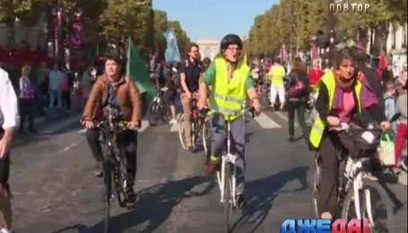 Мэрия Парижа на один день запретила пользоваться машинами