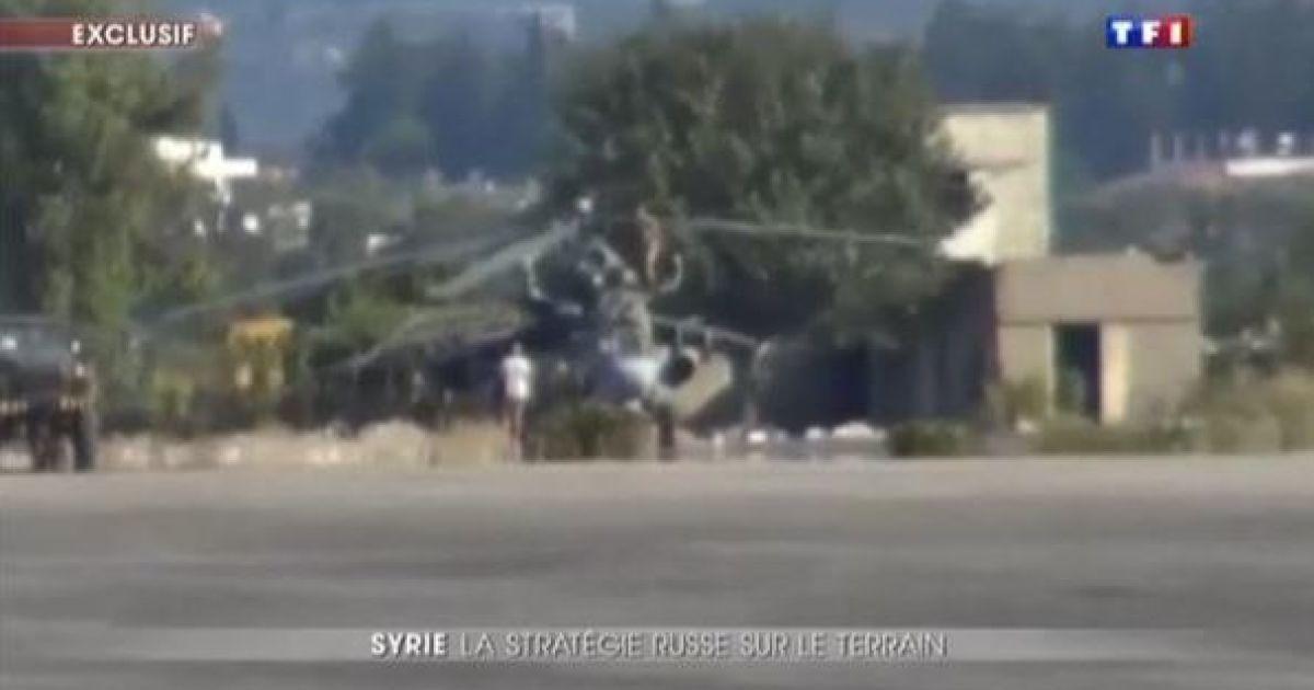 Военная техника попала в кадр