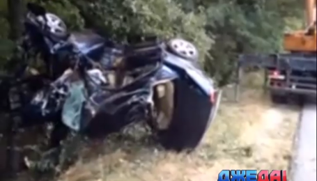 Четыре человека погибли в аварии на Черкащине