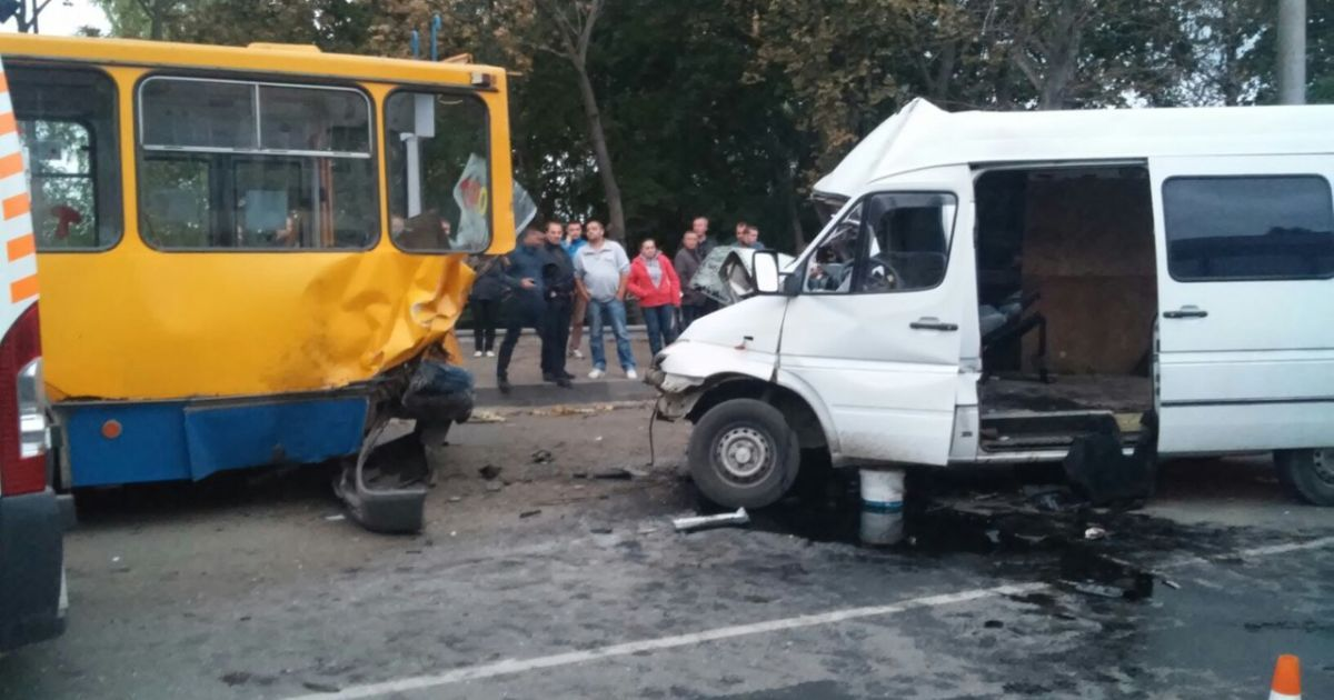 В Тернополе произошло жуткое ДТП @ Тернопольская липа