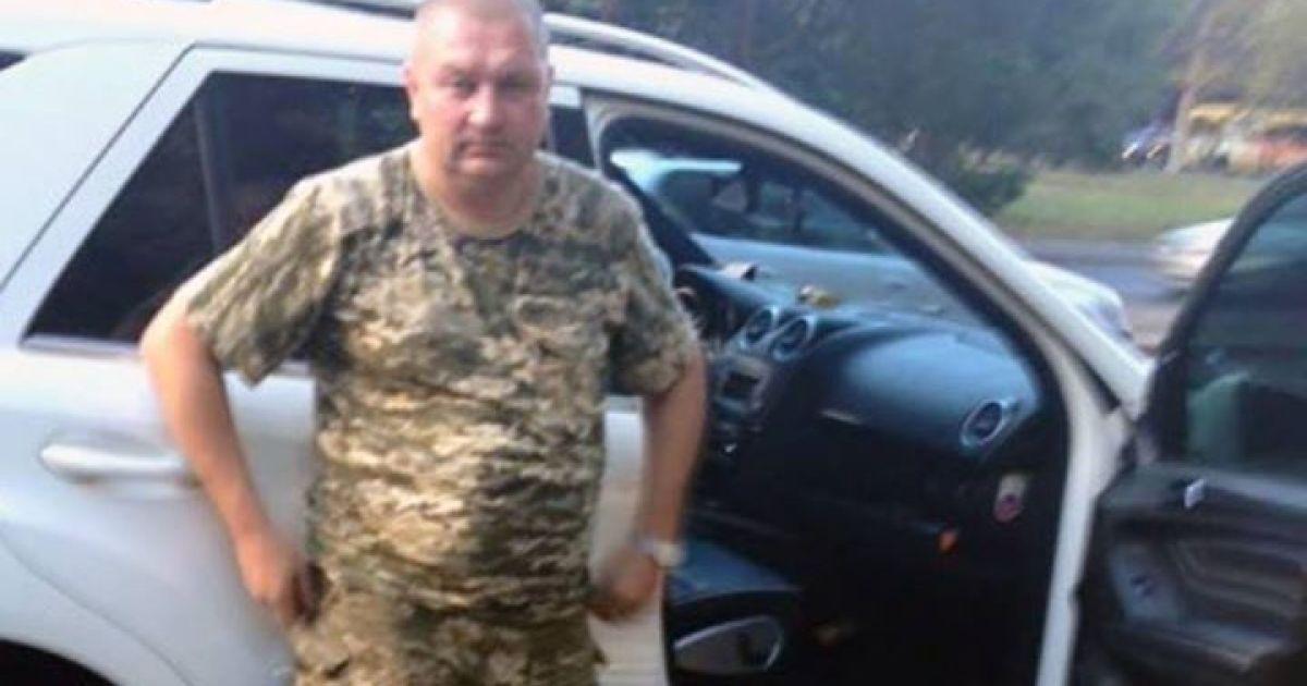 Полторак уволил полковника и генерала ВСУ, которые пьяными катались по Одессе на белом Mercedes