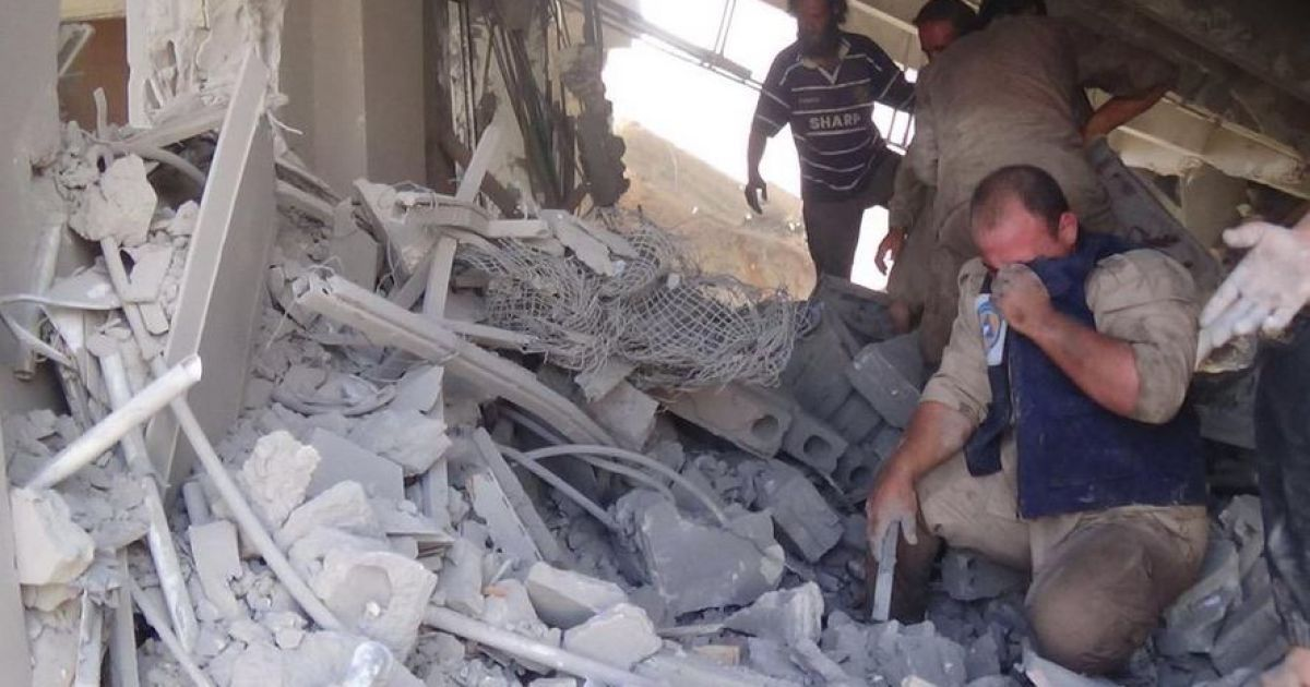 Россия расширила географию бомбардировок в Сирии