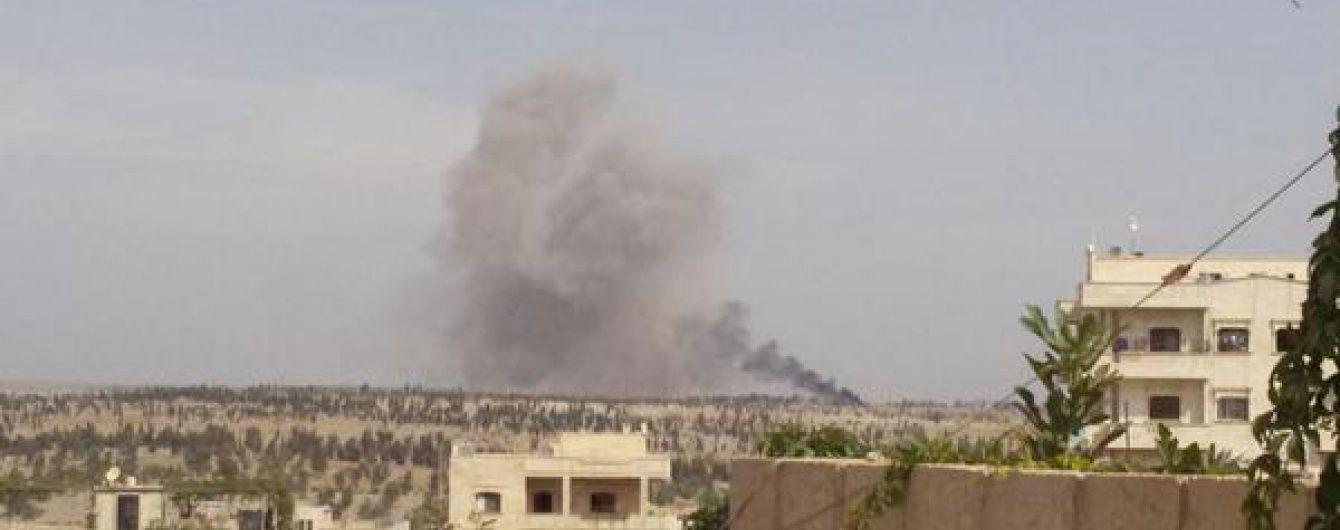 Россия возобновила бомбардировки Сирии