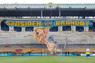 Датский футбольный клуб показал, как фанаты устроили сумасшедший перфоманс