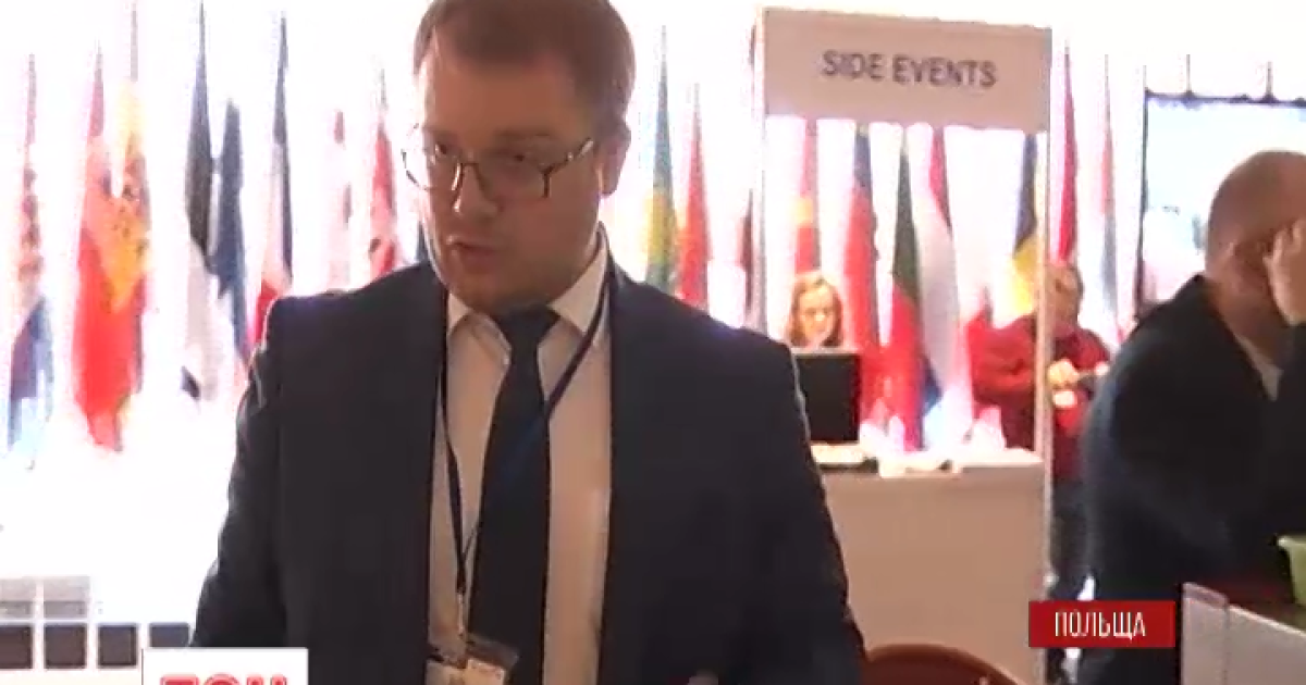 Представника окупаційної влади Криму облили кавою на конференції ОБСЄ. Ексклюзив ТСН