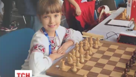 Восьмирічна українка стала чемпіонкою Європи із шахмат у своєму віці