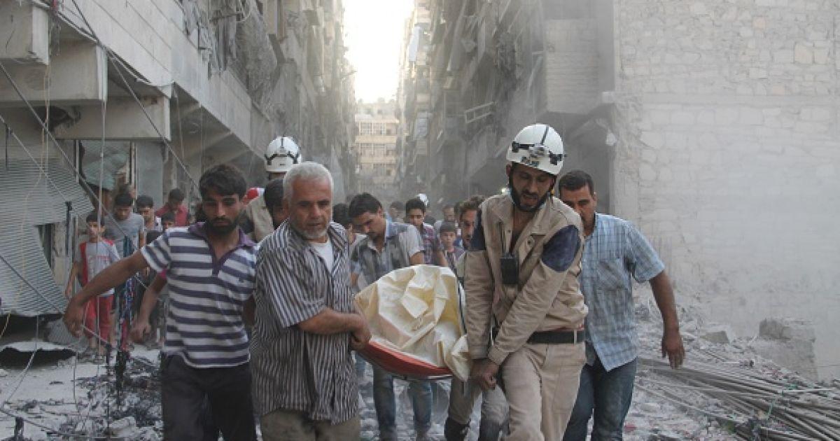 Оппозиция Сирии обвинила РФ в убийстве более 200 мирных жителей