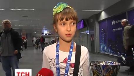Чемпіонка Європи з шахів  Вероніка Верем'юк цієї ночі повернулася до України