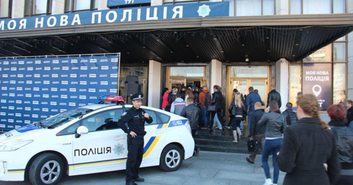 В Ровно стартовал набор новой полиции: заявления уже подали более 160 желающих