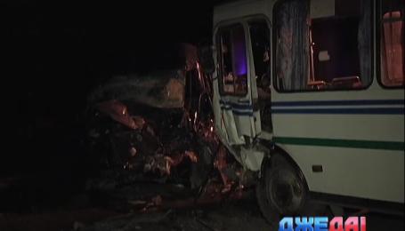 На Днепропетровщине произошла авария со смертельным исходом