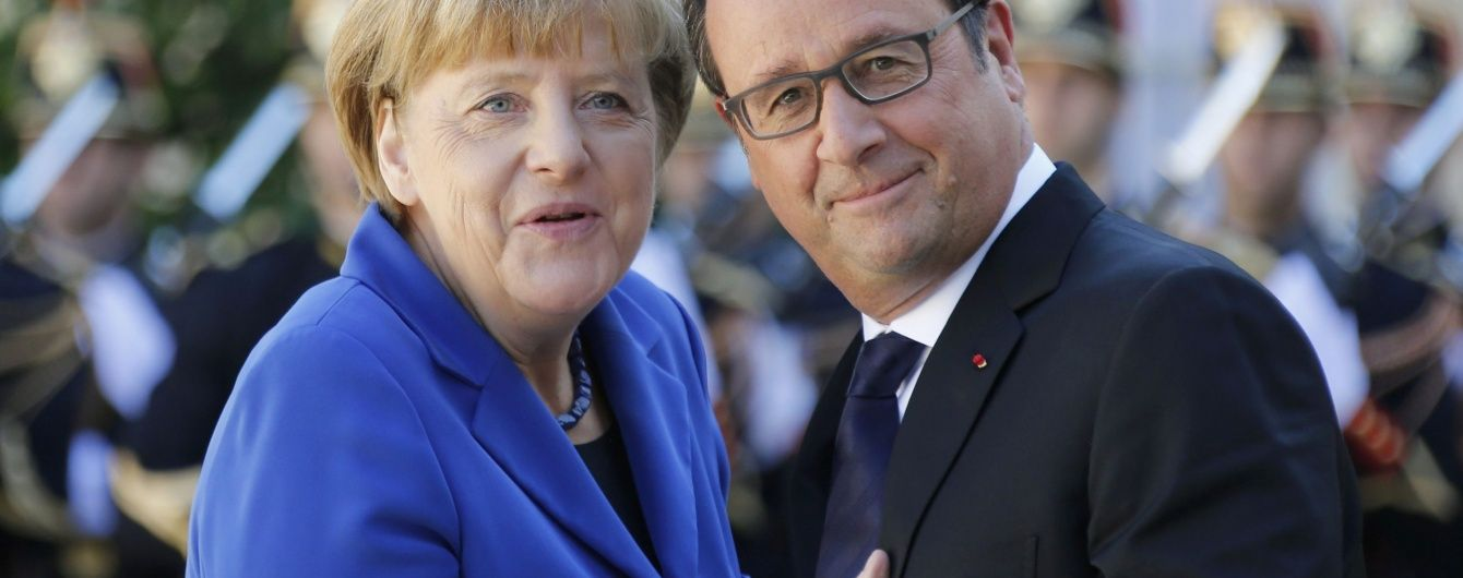 Олланд і Меркель домовилися, як вирішуватимуть наслідки Brexit - Reuters
