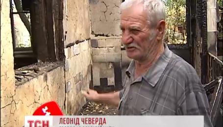 У пенсионеров на Полтавщине за час выгорел дом