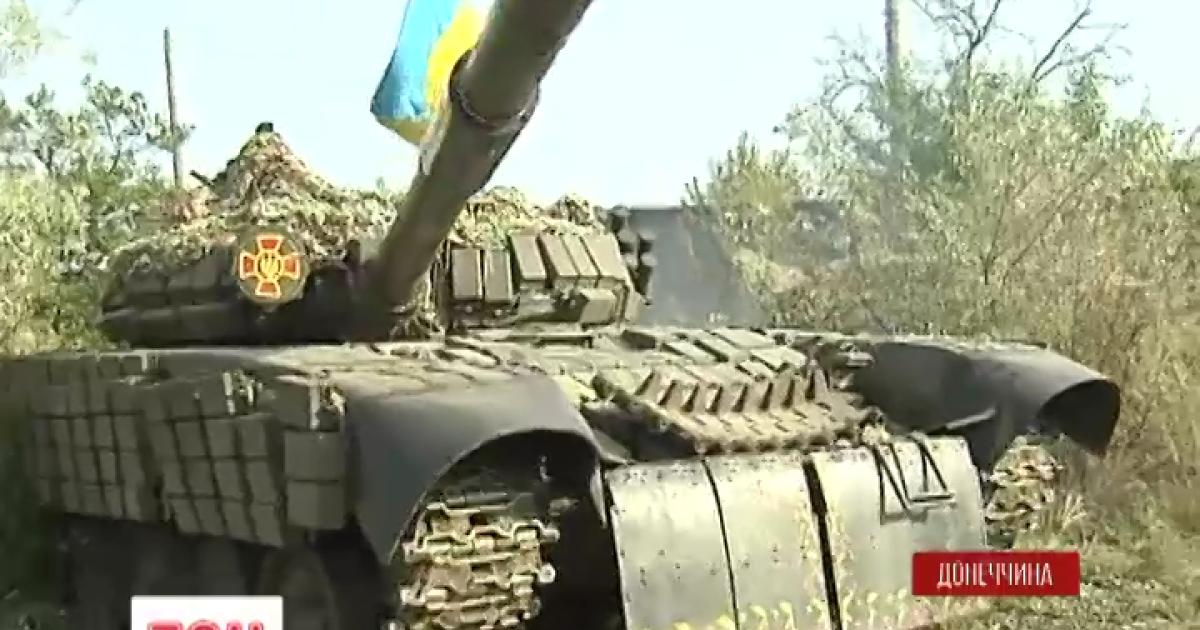 Воины АТО восстановили списанные 30 лет назад танки Т-72