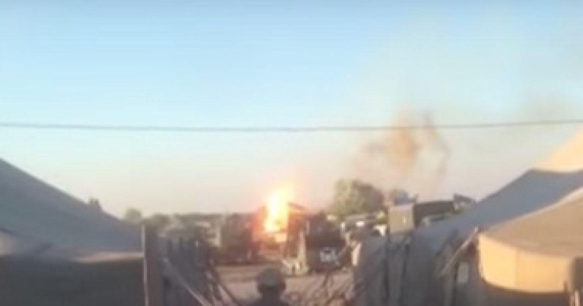 На Днепропетровщине из-за взрыва на полигоне были ранены трое бойцов ВСУ