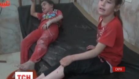 Россия пятый день подряд бомбит Сирию