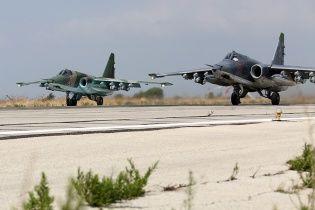 Російські літаки за чотири дні скинули на Сирію майже дві тисячі бомб