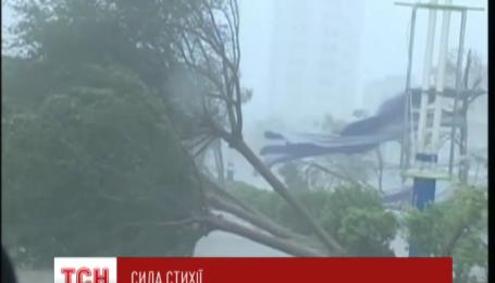 Щонайменше чотири людини загинули на півдні Китаю внаслідок удару тайфуну Мучжиге