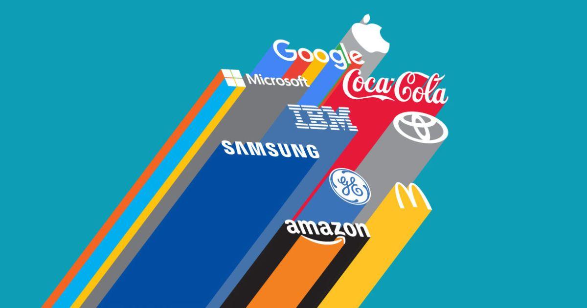 Сколько стоят самые дорогие бренды мира. Инфографика