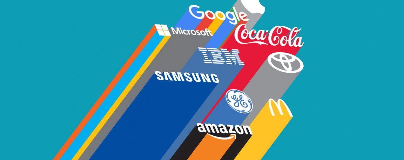 88dfda5a3 Apple, Coca Cola и Google среди найдорожих брендов мира. Инфографика ...
