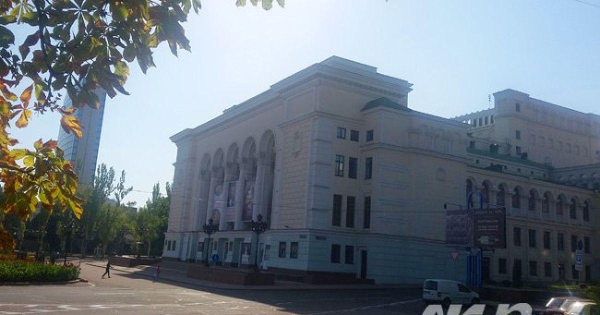 "У Донецьку зникли прапори ""ДНР""."