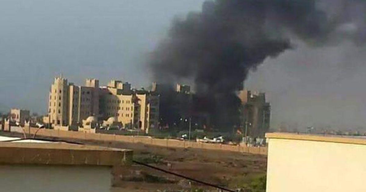 В Йемене из гранатомета обстреляли резиденцию вице-президента