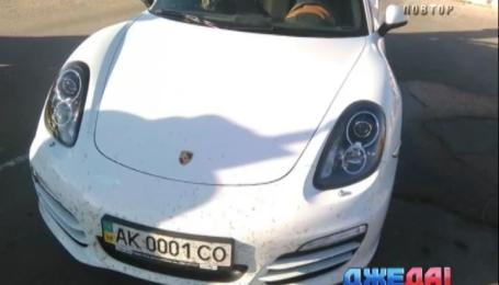 Как крымчанин на Porsche пытался прорвать блокаду