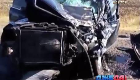 В Запорожье судья под мухой сбил трактора