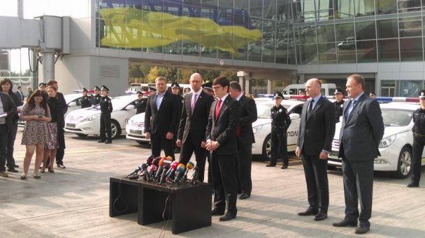 Патрульна поліція вперше вийшла на трасу до Борисполя та аеропорту