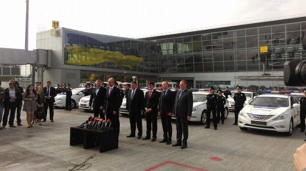 Патрульная полиция впервые вышла на трассу до Борисполя и аэропорта