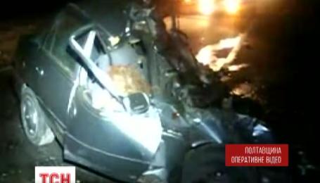 Жуткая авария на трассе Киев-Харьков, трое погибших