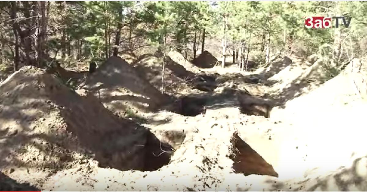В Чите ветеранам войны заблаговременно вырыли могилы