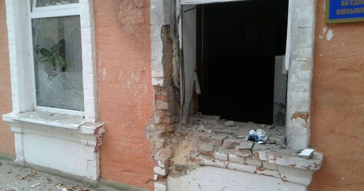 Ночью неизвестные взорвали военкомат в Белгород-Днестровском