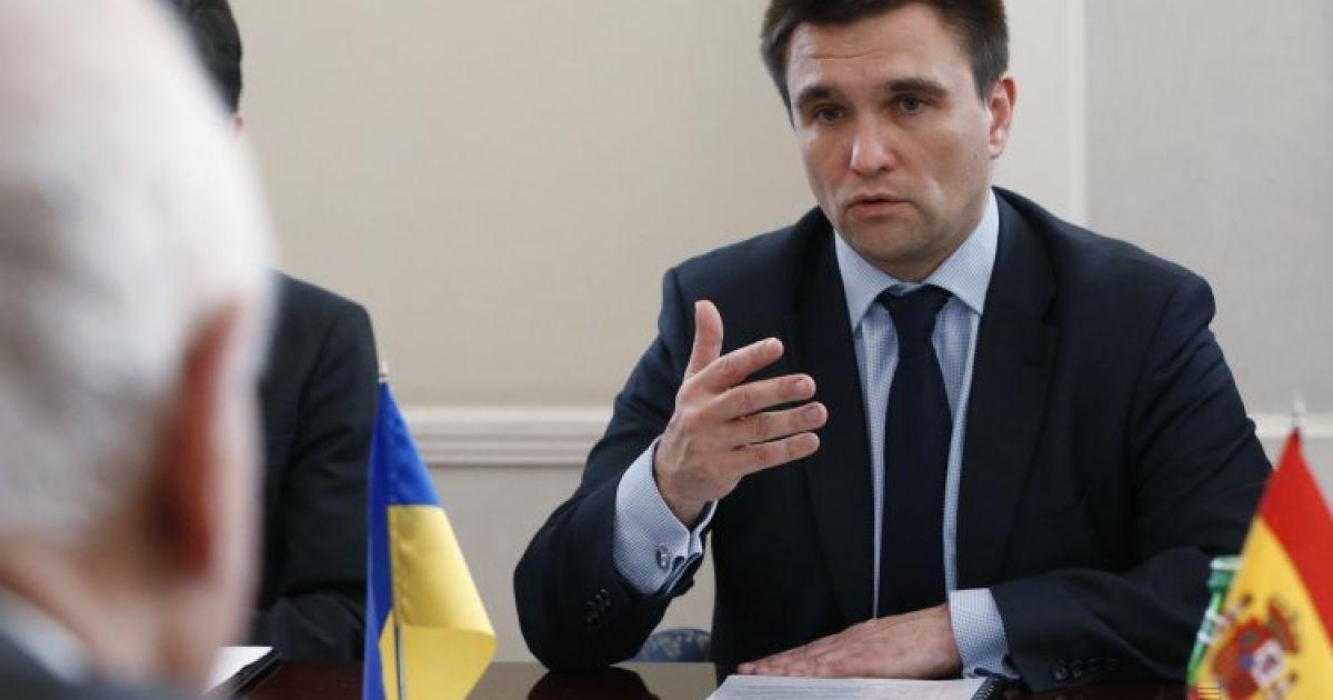 Тема Крыма будет на повестке дня, пока полуостров не освободят от оккупантов - Климкин