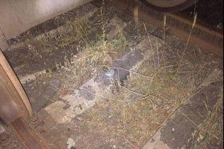На Харківщині невідомі вночі намагалися влаштувати диверсію на залізниці