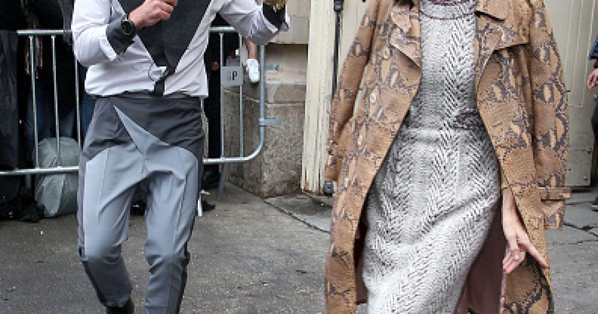 Седюк выбежал на красную дорожку к Анне Винтур @ Getty Images